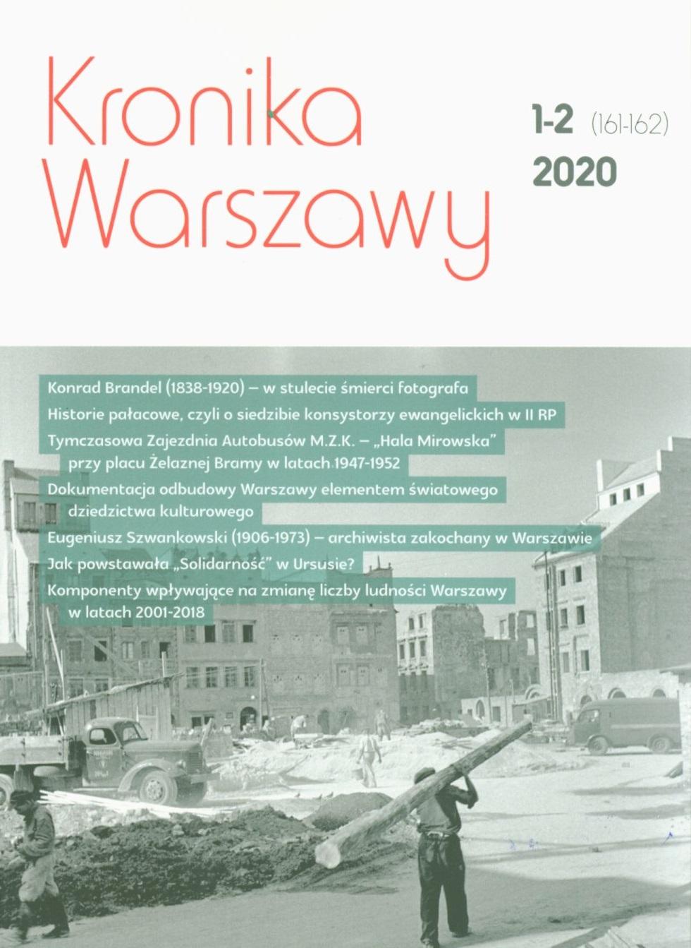 Kronika Warszawy 2020